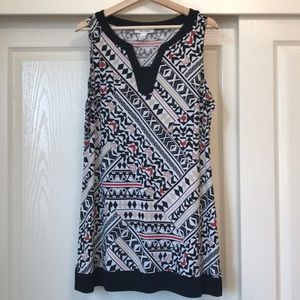 New White House Black Market Tunic Size XL